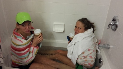 I hate ice baths.
