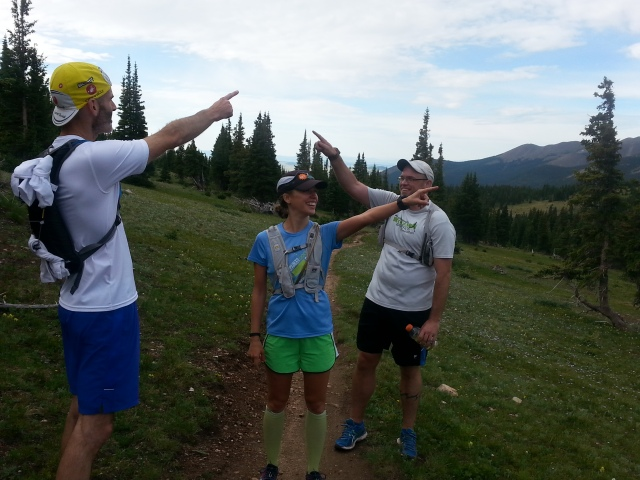 Some fun with friends on the Colorado Trail!