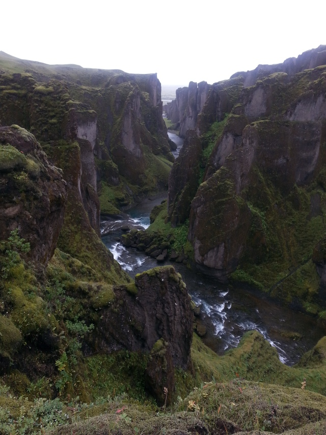 The extent of my exercise in Iceland was to see beautiful things. Not so different than training for a 100 miler, I guess! But no running was involved.