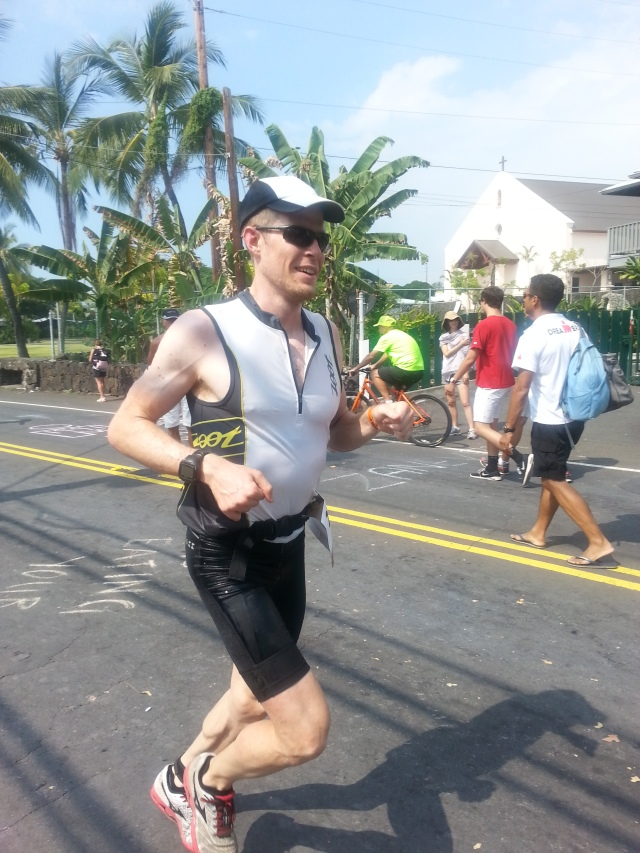First few miles of the marathon along Ali'i drive.