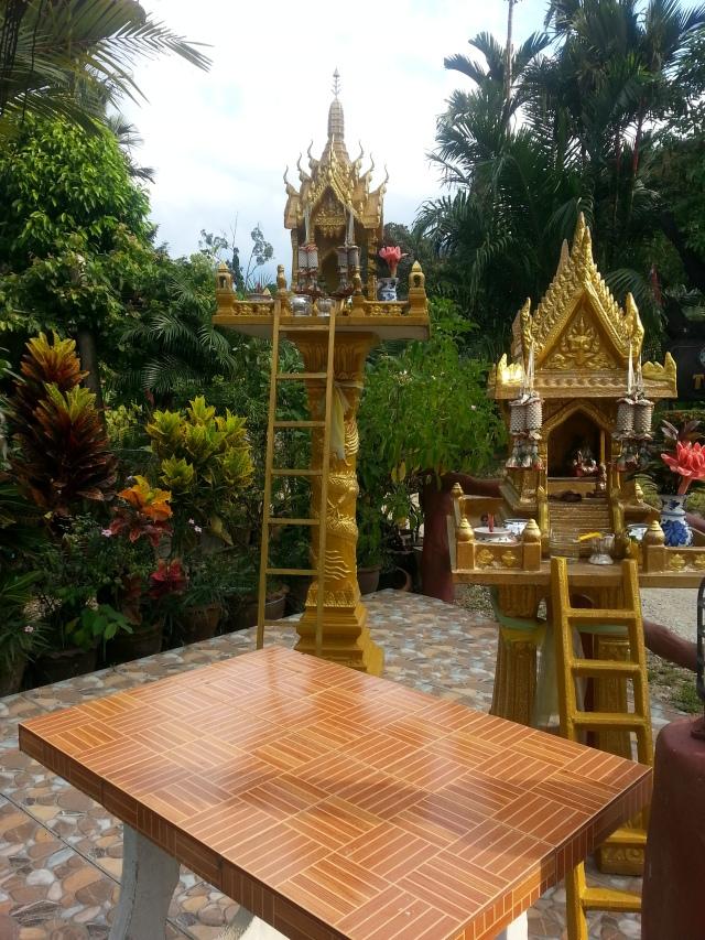 Spirit house in Khao Sok.