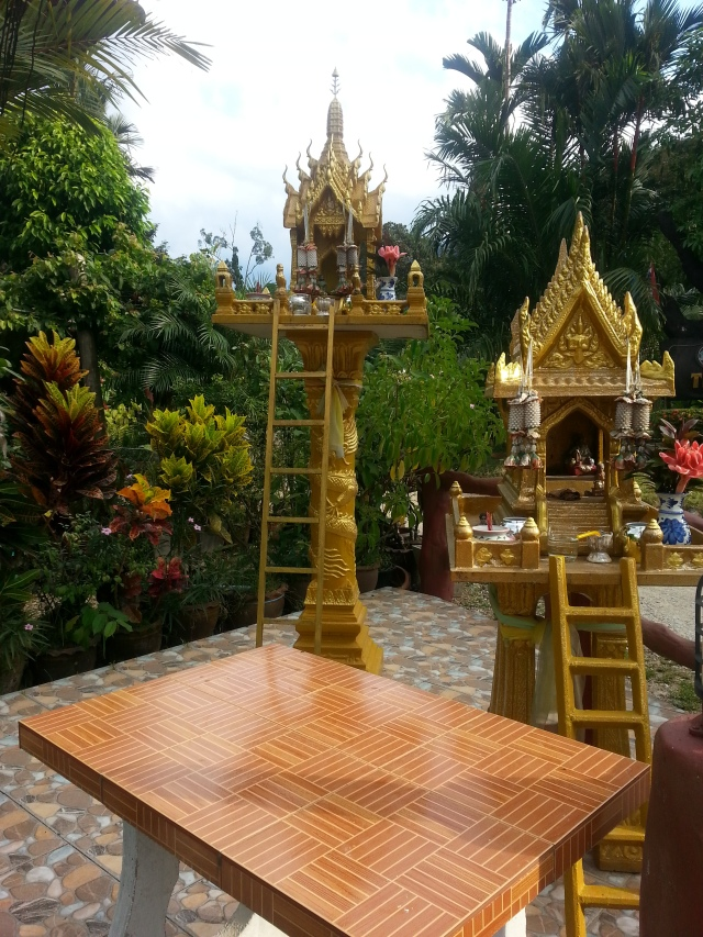 Spirit house in Khao Sok.