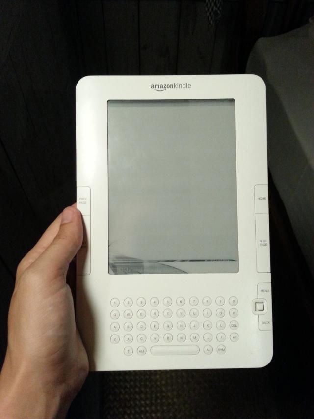 Sad day for Sam....RIP Kindle.
