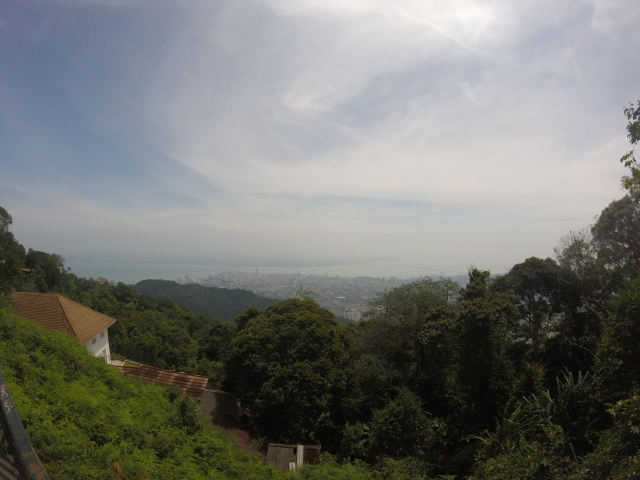 View from top of Penang Hill.