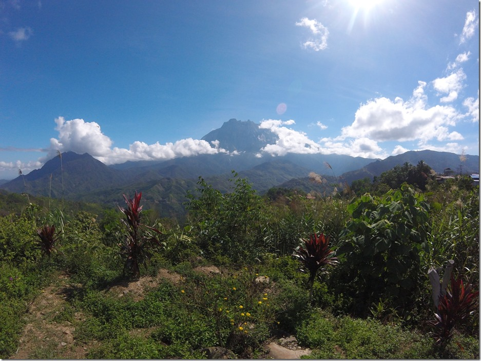Mount Kinabalu. Beautiful, no?