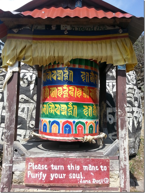 Prayer Wheel in Nepal