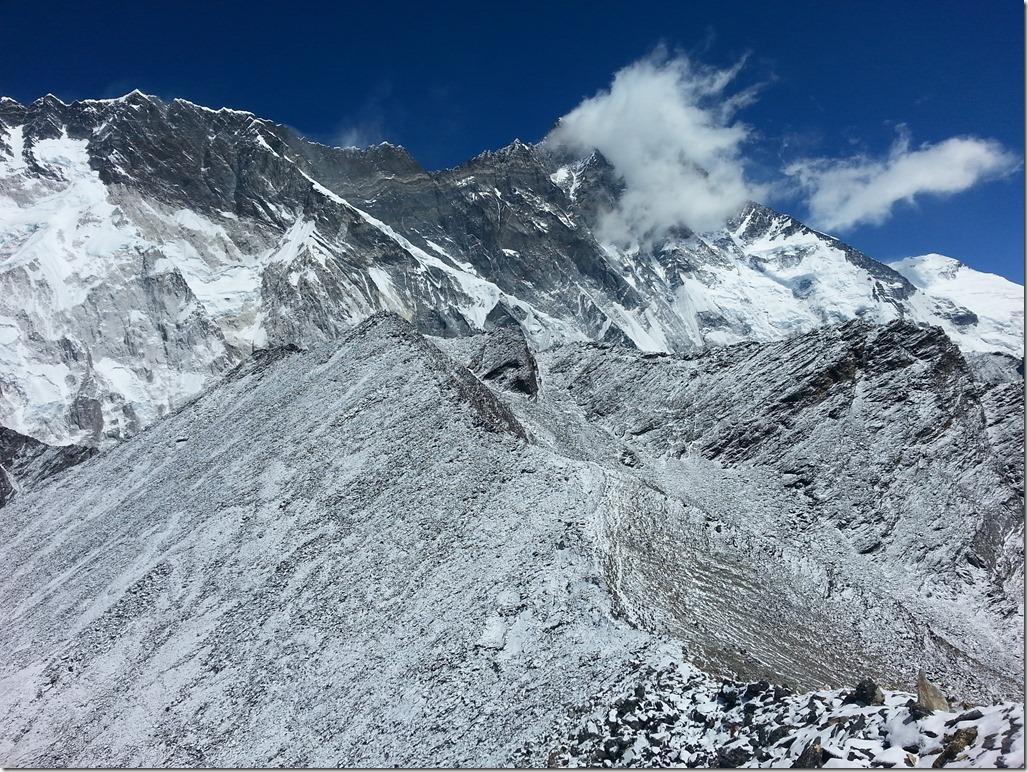 Chukhung Ri mountain views