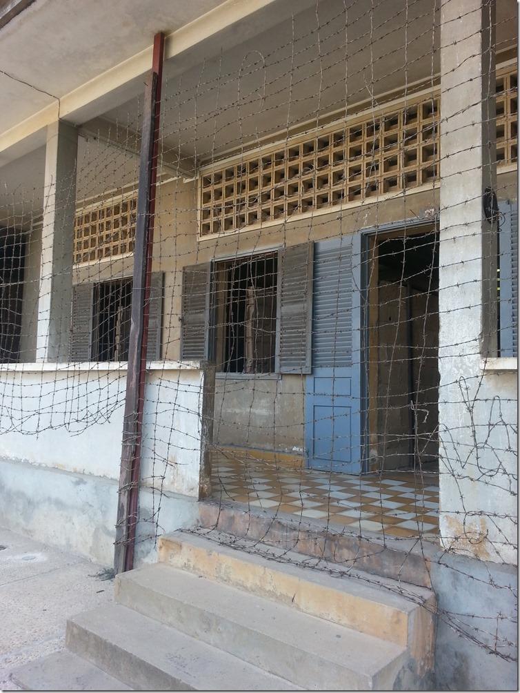 S21 Genocide Museum in Phnom Penh.