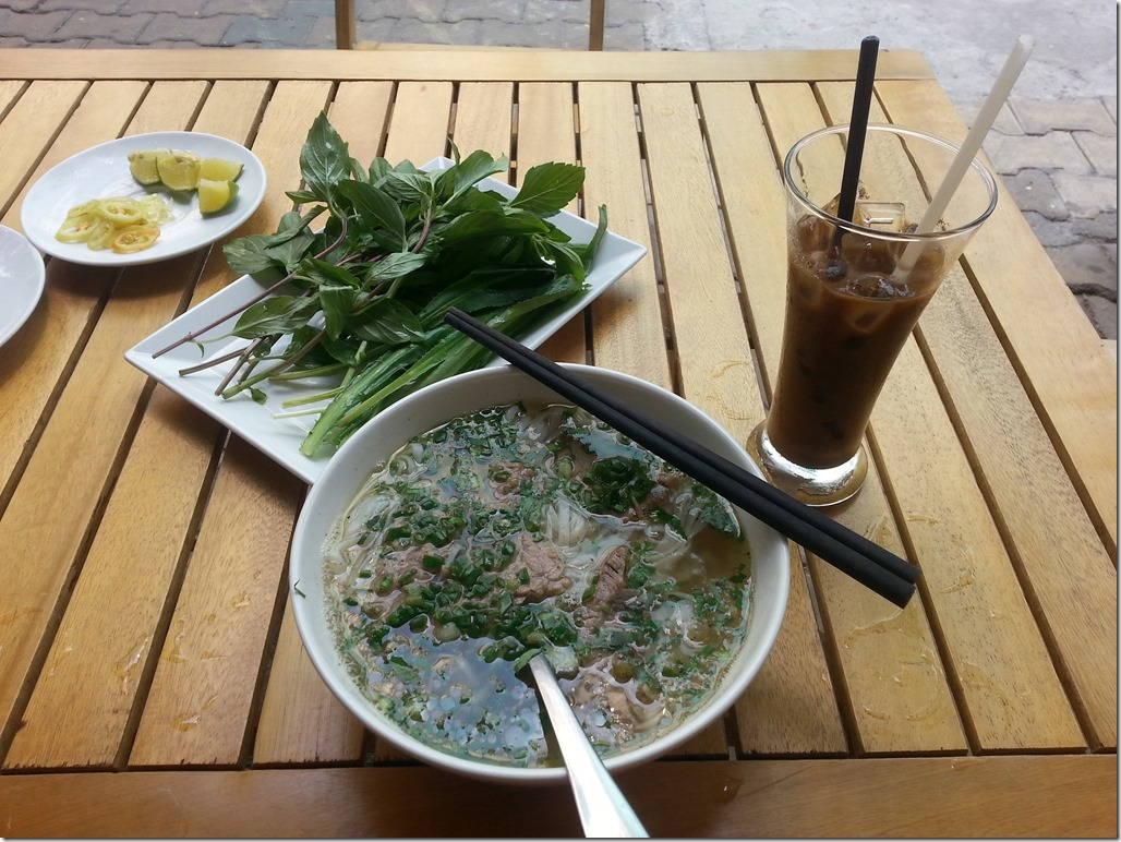 Pho and Vietnamese Coffee