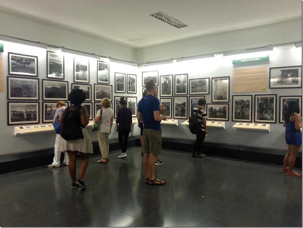 Vietnam War Museum in HCMC