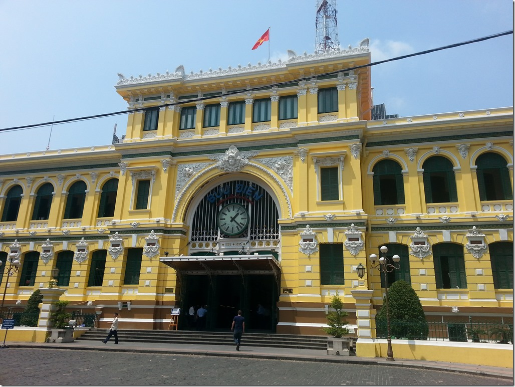 Post Office in HCMC.