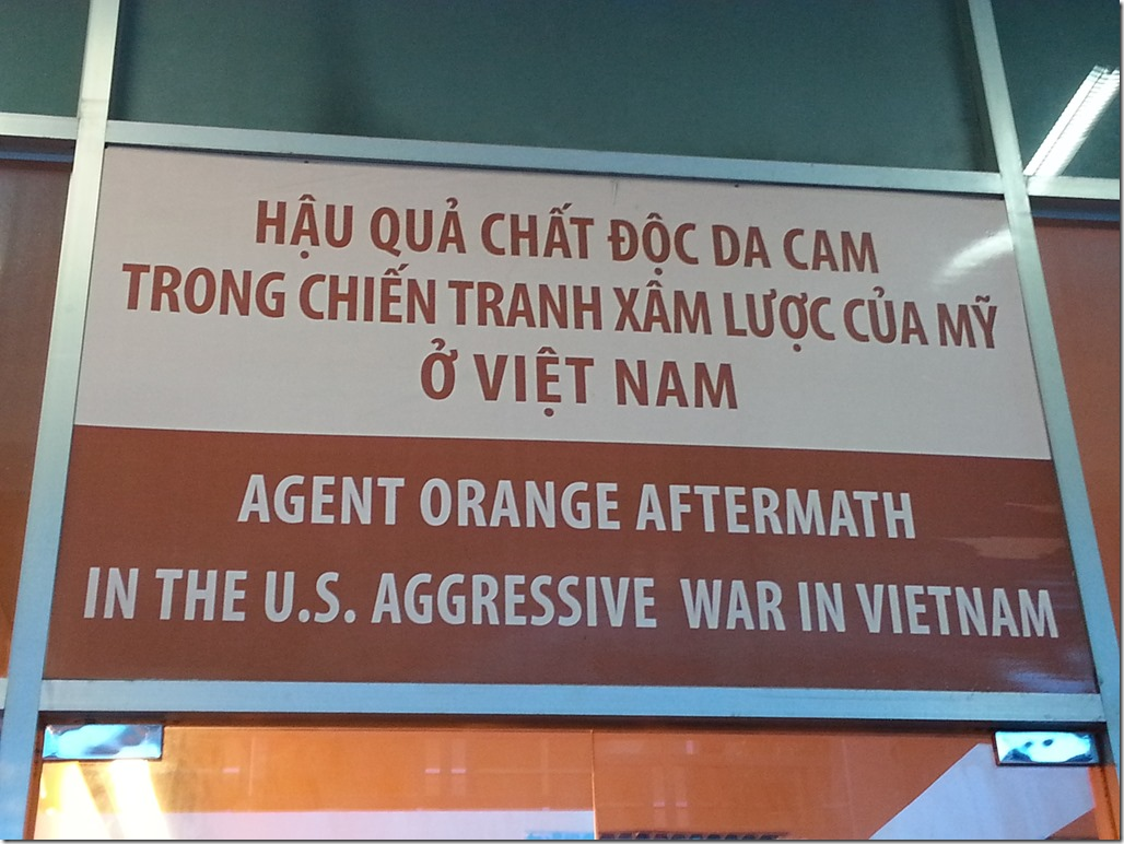 Agent Orange Aftermath in the US Aggressive War in VIetnam