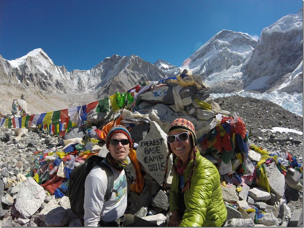 Everest Base Camp sign