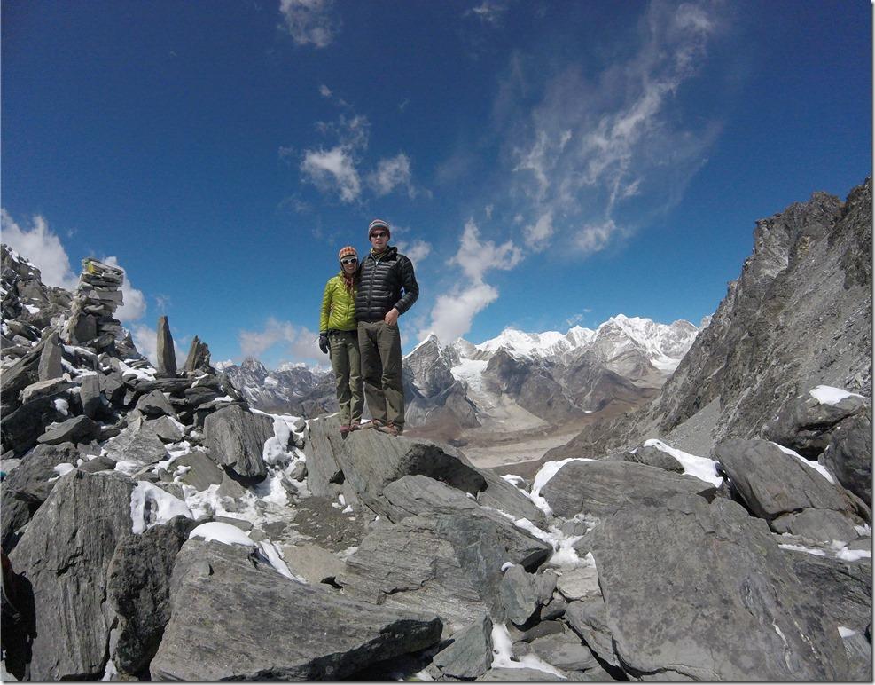 Top of Kongma La