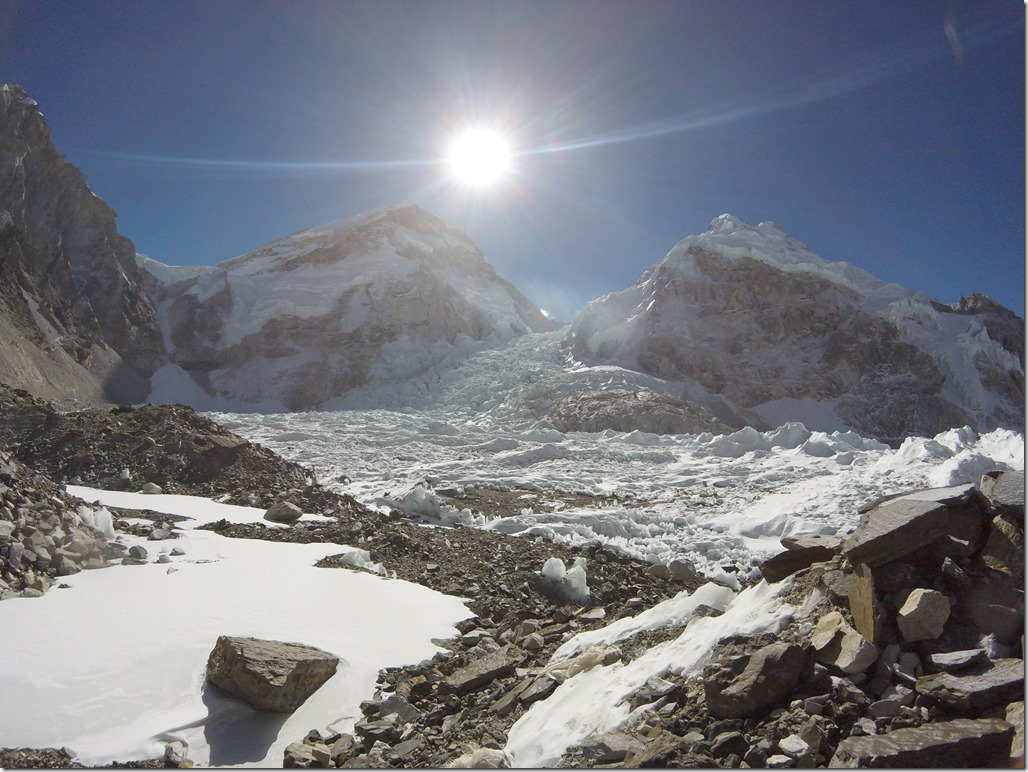 Khumbu Icefall at Everest Base Camp