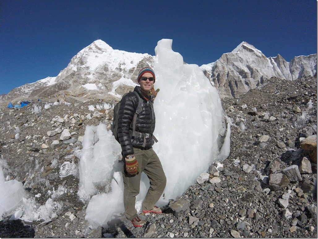 Everest Base Camp Ice Chunks