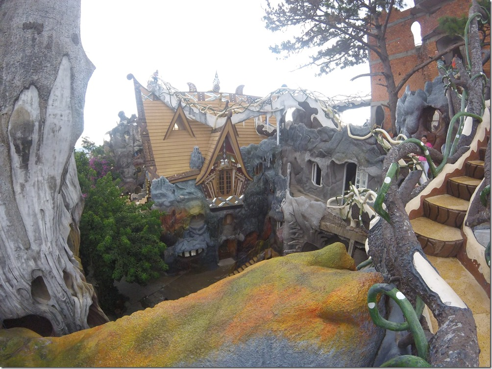 Crazy House in Dalat, Vietnam