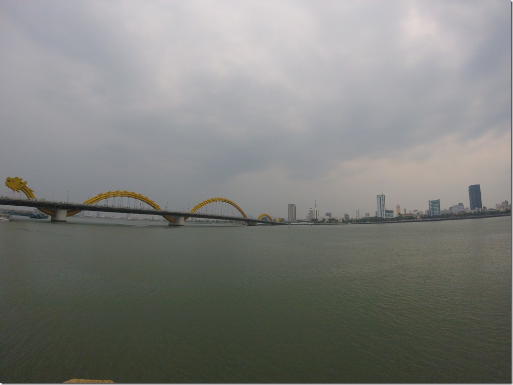 Behold! The Danang Dragon Bridge.