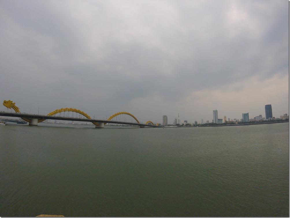 Behold! The Danang Dragon Bridge.