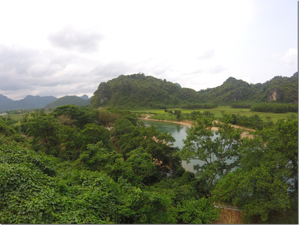 Views outside of Phong Nha Cave