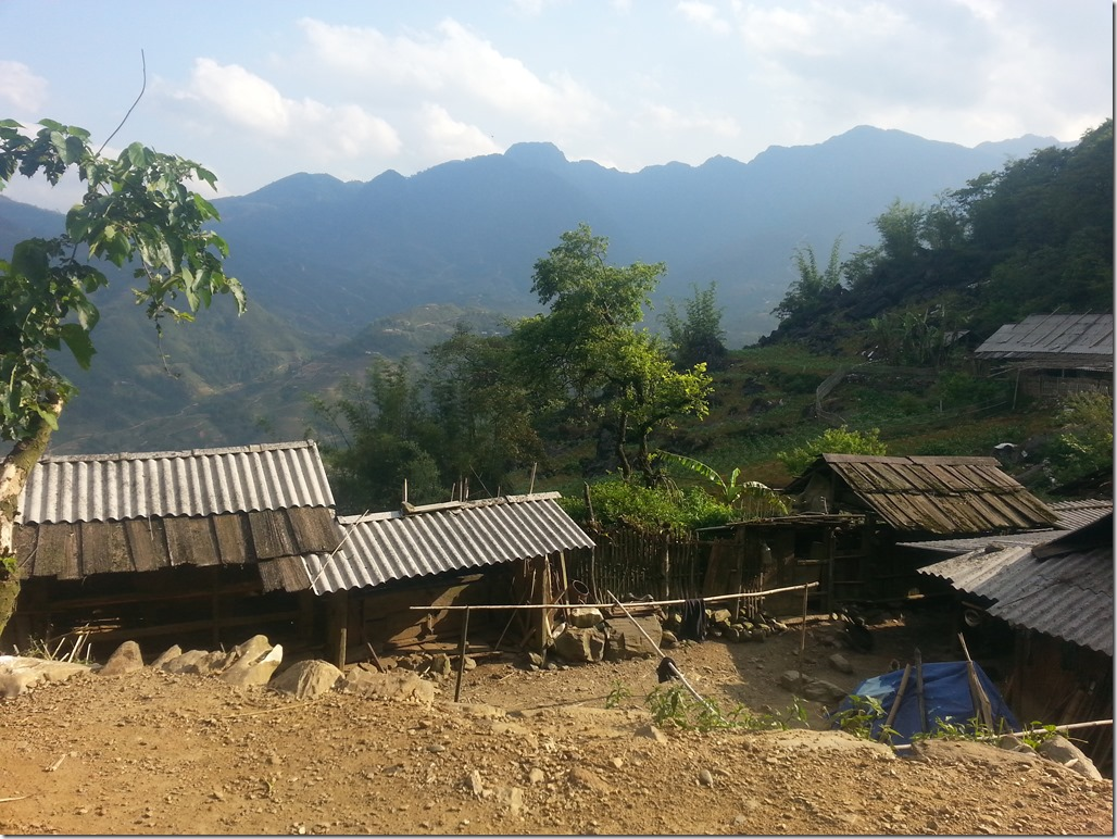 View from trek in Sapa.