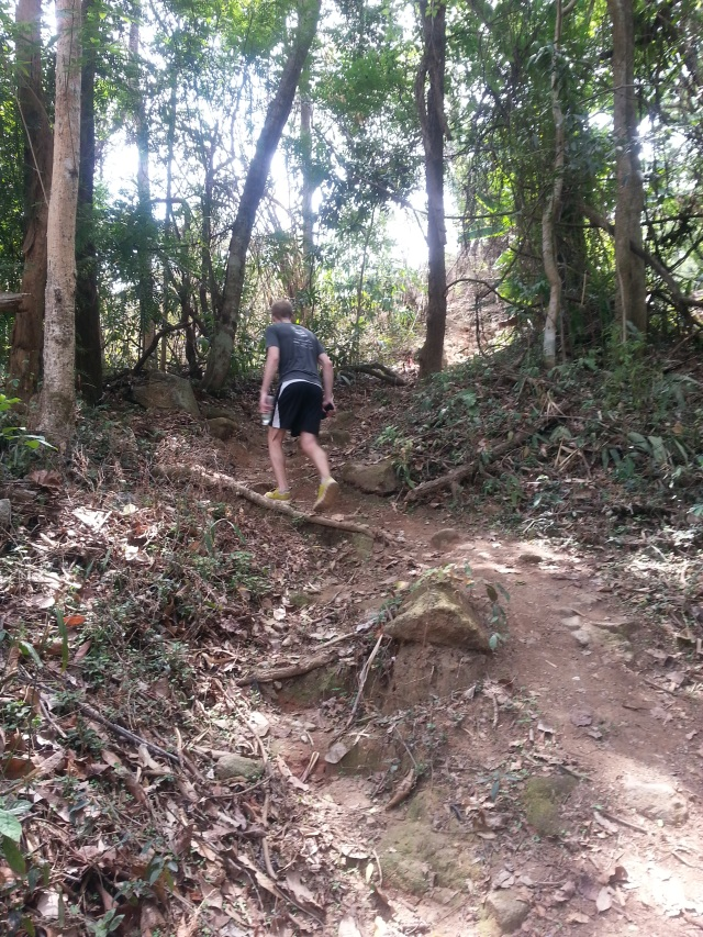 Trail up to Doi Suthep.