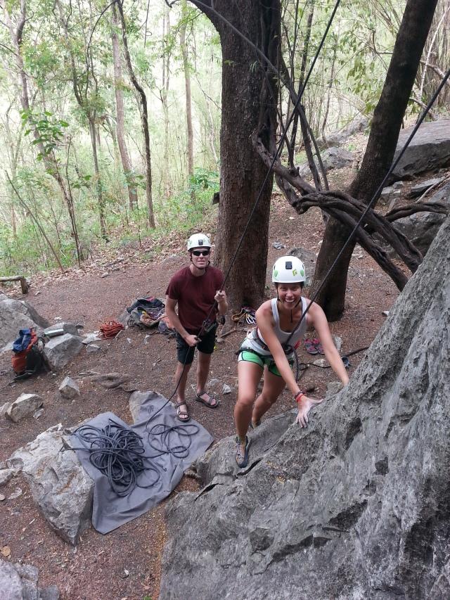 Rock Climbing. Chiang Mai, Thailand.