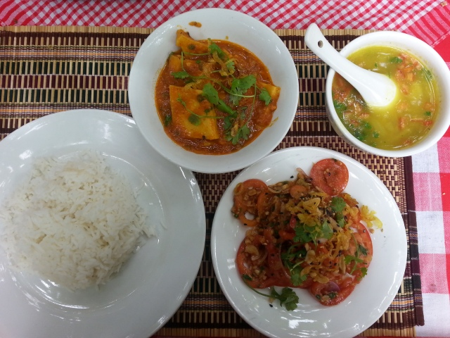 Food in Bagan, Moon Vegetarian