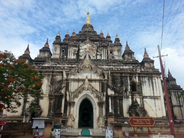 temples and touts in old bagan