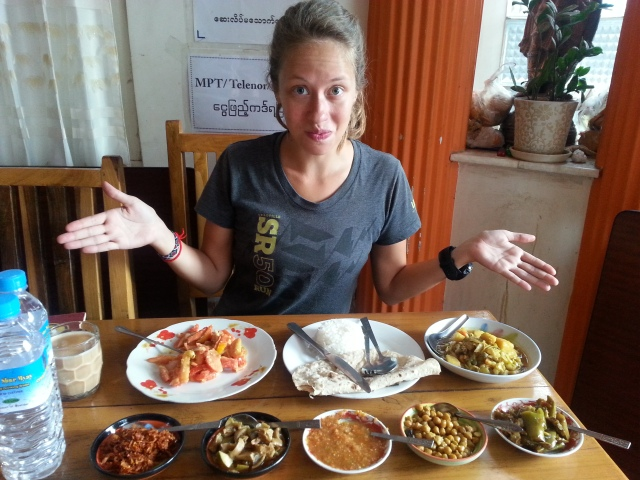 The spread at Everest Nepali.