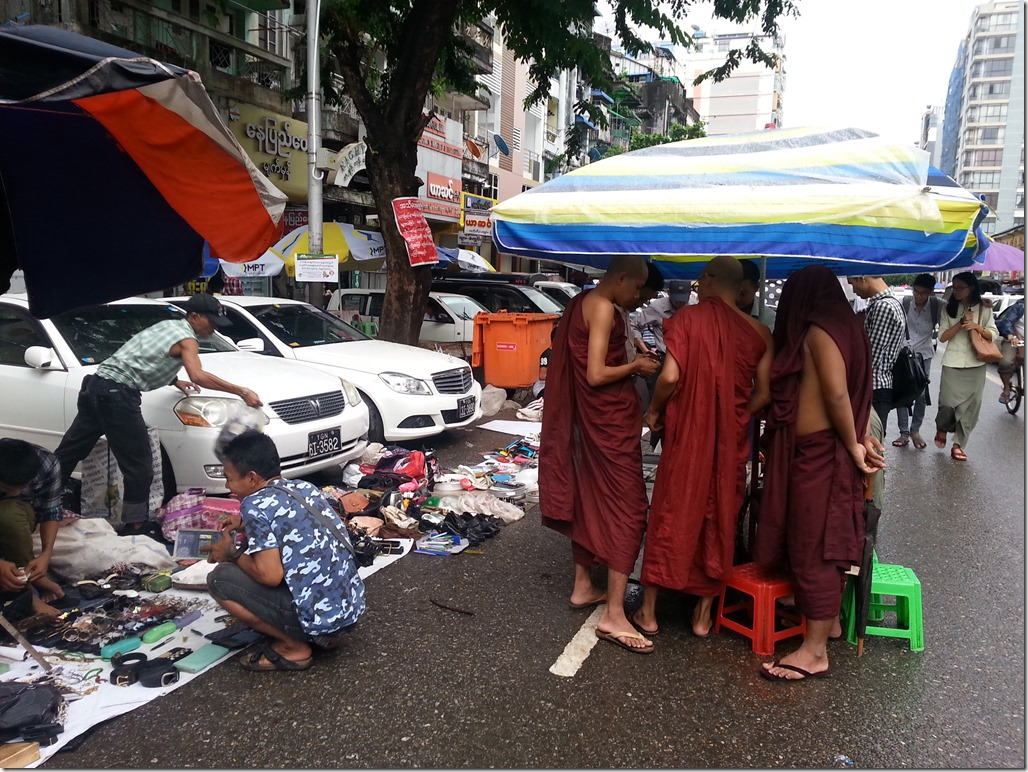 Markets and monks.