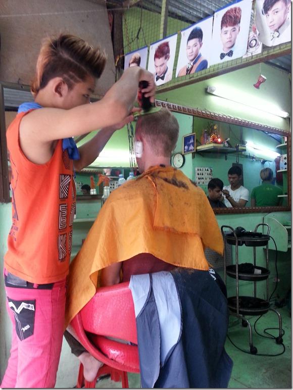 Stylin in Yangon.